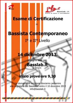 Locandina certificazione I e II liv_14dic2013